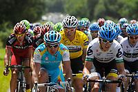 CYCLING - TOUR DE FRANCE 2011 - STAGE 5 - Carhaix > Cap Frehel (164,5 km) - 06/07/2011 - PHOTO : JULIEN CROSNIER / DPPI - THOR HUSHOVD (NOR) / TEAM GARMIN - CERVELO