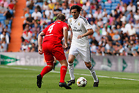 Real Madrid´s Solari during 2015 Corazon Classic Match between Real Madrid Leyendas and Liverpool Legends at Santiago Bernabeu stadium in Madrid, Spain. June 14, 2015. (ALTERPHOTOS/Victor Blanco)