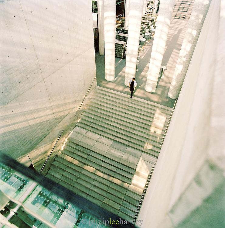 Atrium in the University of Warsaw, Warsaw, Poland
