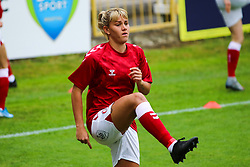 Gemma Evans of Bristol City Women during warm-up  Mandatory by-line: Will Cooper/JMP - 18/10/2020 - FOOTBALL - Twerton Park - Bath, England - Bristol City Women v Birmingham City Women - Barclays FA Women's Super League
