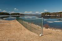 Ice Out Lake Winnipesaukee March, 2012.