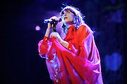 Florence and the Machine performing at the Pageant in St. Louis, Missouri on July 5, 2011. © Todd Owyoung.