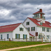 Cloudy day at Cape Cod Coast Guard Station on The Cape in Eastham, Massachusetts.<br /> <br /> Cloudy day at Cape Cod Coast Guard Station photography photos are available as museum quality photo, canvas, acrylic, wood or metal prints. Wall art prints may be framed and matted to the individual liking and New England interior design projects decoration needs.<br /> <br /> Good light and happy photo making!<br /> <br /> My best,<br /> <br /> Juergen
