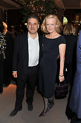 TOM GOLDSTAUB and JANE PROCTER at a party to celebrate the launch of Carol Woolton's book 'Drawing Jewels For Fashion' held at Asprey, 167 New Bond Street, London W1 on 10th November 2011.