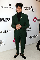 February 24, 2019 - West Hollywood, CA, USA - LOS ANGELES - FEB 24:  Angel Bismark Curiel at the Elton John Oscar Viewing Party on the West Hollywood Park on February 24, 2019 in West Hollywood, CA (Credit Image: © Kay Blake/ZUMA Wire)