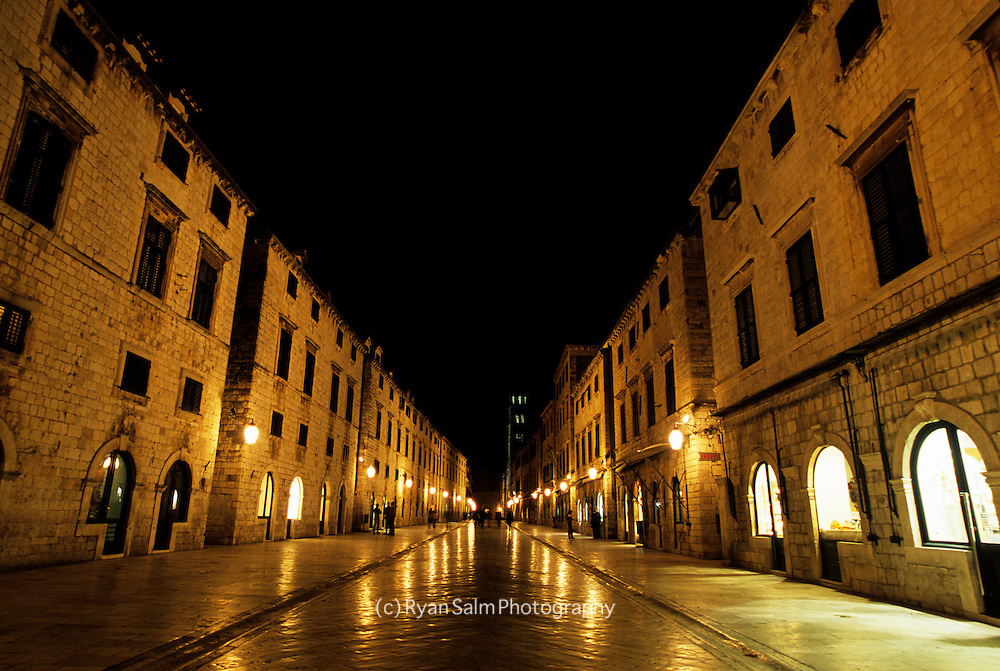 Evening Lights<br /> Dubrovnik, Croatia
