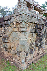 Terrace Of The Leper King, Angkor Thom