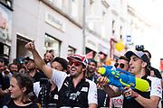 June 10-16, 2019: 24 hours of Le Mans. 8 Sébastien Buemi, Toyota Gazoo Racing, TOYOTA TS050 - HYBRID. 8 Fernando Alonso, Toyota Gazoo Racing, TOYOTA TS050 - HYBRID , driver's parade