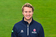 James Kennedy head shot at Somerset County Cricket Club at the Cooper Associates County Ground, Taunton, United Kingdom on 11 April 2018. Picture by Graham Hunt.