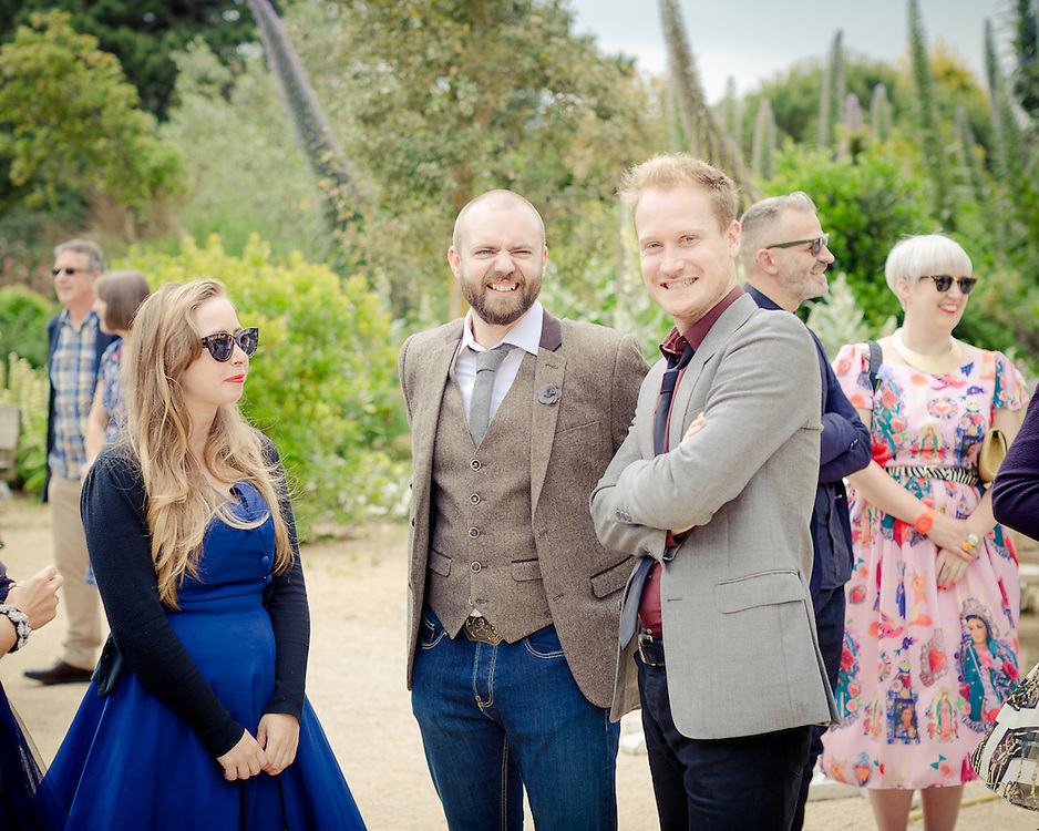 The Wedding of Simon Toms & Joni Rhodes at Ventnor Botanic Garden, Isle of Wight, on the 20th June 2015.