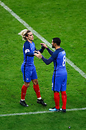 Exchange Antoine Griezmann (FRA) by Nabil Fakir (FRA) during the 2017 Friendly Game football match between France and Wales on November 10, 2017 at Stade de France in Saint-Denis, France - Photo Stephane Allaman / ProSportsImages / DPPI