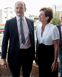 September 17, 2016 - London, England, United Kingdom - Image ©Licensed to i-Images Picture Agency. 17/09/2016. London, United Kingdom. Newly elected leader of UKIP, Diane James MEP welcomes Douglas Carswell MP to the Party's conference in Bournemouth. Picture by i-Images (Credit Image: © i-Images via ZUMA Wire)