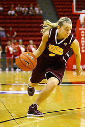 15 March 2012:  Kylie Welch during a first round WNIT basketball game between the Central Michigan Chippewas and the Illinois Sate Redbirds at Redbird Arena in Normal IL