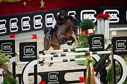 Zuger Annina, SUI, Louis<br /> MEVISTO Amadeus Horse Indoor Salzburg<br /> © Hippo Foto - Stefan Lafrentz<br /> 11-12-2016