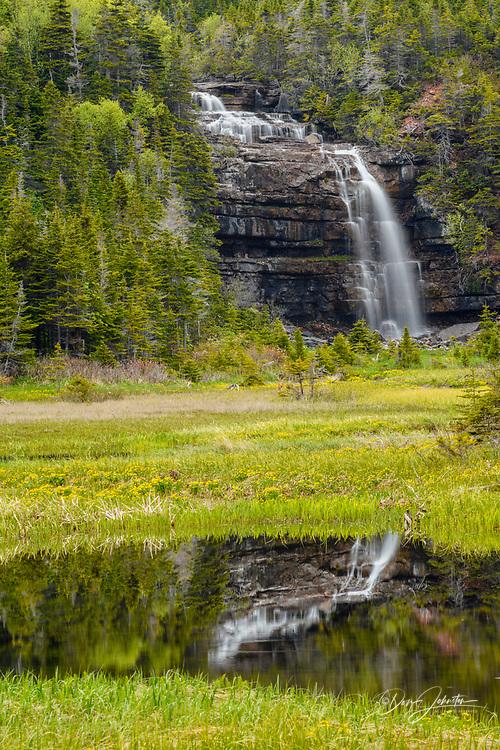 Hidden Falls, Sheaves Cove, Newfoundland and Labrador NL, Canada