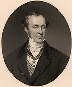 Roderick Impey Murchison 1792-1871) Scottish-born British geologist.  Defined Silurian system, 1835, Permian system, c1845, and in co-operation with Adam Sedgwick (1785-1873), the Devonian system. Fellow of the Royal Society, 1826. Director-general of the Geological Survey, 1855. President of the Royal Geographical Society, 1843.    From 'Life of Sir Roderick I. Murchison' by Archibald Geikie (London, 1875). Engraving.