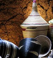 Traditional Rwandan baskets.