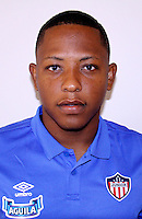 Colombia League - Liga Aguila 2015-2016 - <br /> Club Deportivo Junior de Barranquilla - Colombia / <br /> Jhon Freduar Vasquez Anaya