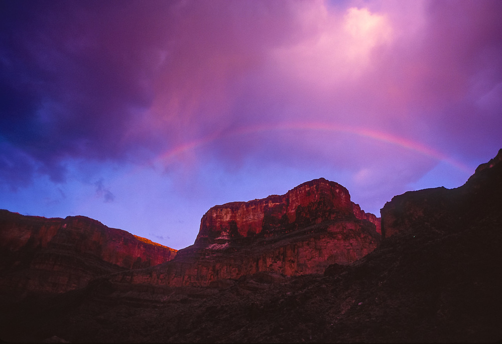 Near Monument Fold, inner canyon, Grand Canyon National Park, Arizona, USA