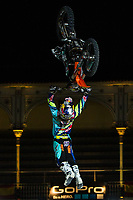 New Zealander Fmx rider Levi Sherwood during qualifying Red Bull X-Fighters 2016 at Madrid. 22,06,2016. (ALTERPHOTOS/Rodrigo Jimenez)