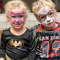 REPRO FREE<br /> Anna and Eoin Fitzgerald from Kinsale pictured at the Kinsale Halloween Parade.<br /> Picture. John Allen
