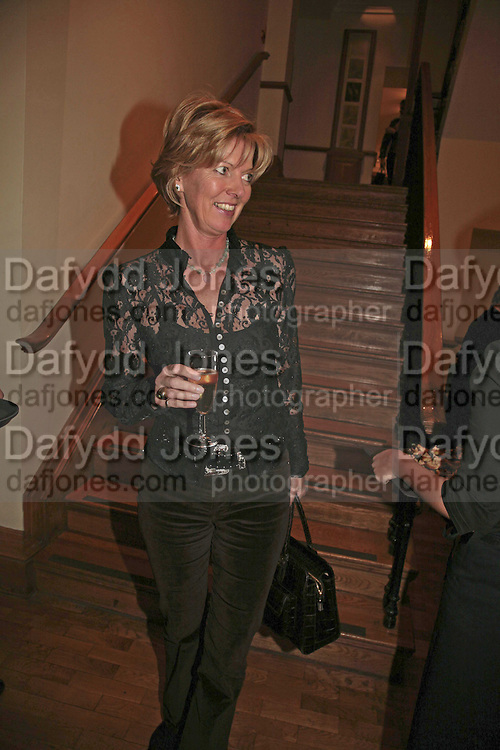 Lady de Ramsay, Reception and auction of Wildlife and Sporting Art in aid of the game Conservancy Trust. Christie's. King St. London W1. 12 December 2006. ONE TIME USE ONLY - DO NOT ARCHIVE  © Copyright Photograph by Dafydd Jones 248 CLAPHAM PARK RD. LONDON SW90PZ.  Tel 020 7733 0108 www.dafjones.com