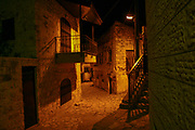 Night shots, Safed, Northern Israel