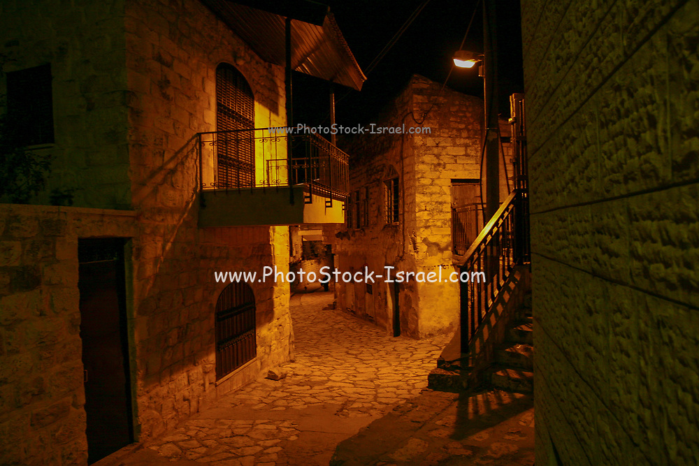 Night shots, Safed, Northern Israel