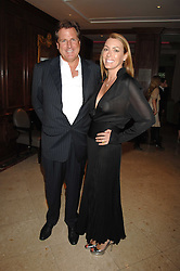 DAVID & GRANIA STEPHENSON at a party to celebrate the 180th Anniversary of The Spectator magazine, held at the Hyatt Regency London - The Churchill, 30 Portman Square, London on 7th May 2008.<br /><br />NON EXCLUSIVE - WORLD RIGHTS