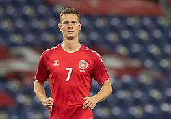 Oliver Abildgaard (Danmark) under venskabskampen mellem Danmark og Sverige den 11. november 2020 på Brøndby Stadion (Foto: Claus Birch).