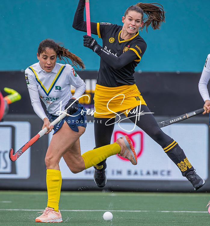 AMSTELVEEN -  Lidewij Welten (DenBosch) tijdens  de Euro Hockey League finale dames, HC Den Bosch-Club Campo de Madrid (5-0).  COPYRIGHT KOEN SUYK