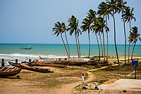 Walking along the Shore, Elmina