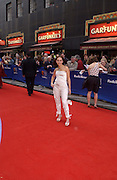 Samia Ghadie, TV Bafta Awards, London Palladium. 13 April 2003. © Copyright Photograph by Dafydd Jones 66 Stockwell Park Rd. London SW9 0DA Tel 020 7733 0108 www.dafjones.com