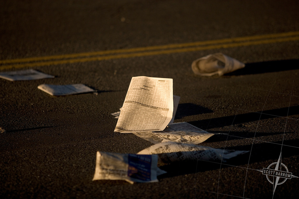 Newspapers in NYC Street