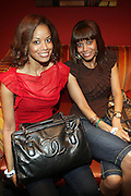 l to r: Tricia Clark-Stone and Antoinette Clark at The Black Star Concert presented by BlackSmith and Live N Direct held at The Nokia Theater in New York City on May 30, 2009