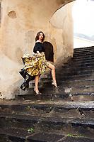 Moa Åberg model ELLE Positano <br />Emma Unckel Stylist  Ass Karolina Lindqvist<br />Josefin Giglic Hair <br />Regina Törnwall Make Up