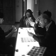 Team editing at the Eddie Adams Workshop, 1993