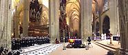 112114 Cayetana Fitz-James Stuart, Duchess of Alba, Funeral Mass at Sevilla Cathedral