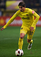 VILLAREAL, SPAIN - FEBRUARY 4: Cani of Villarreal in action during the La Liga match between Villarreal CF and Levante UD at El Madrigal Stadium in Villarreal on Fabruary 4 2011. Levante won 0-1. (Photo by Xaume Olleros/SSP/ DPPI)