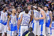 DESCRIZIONE : Campionato 2015/16 Serie A Beko Dinamo Banco di Sardegna Sassari - Grissin Bon Reggio Emilia<br /> GIOCATORE : Team Dinamo Banco di Sardegna Sassari<br /> CATEGORIA : Ritratto Esultanza Postgame<br /> SQUADRA : Dinamo Banco di Sardegna Sassari<br /> EVENTO : LegaBasket Serie A Beko 2015/2016<br /> GARA : Dinamo Banco di Sardegna Sassari - Grissin Bon Reggio Emilia<br /> DATA : 23/12/2015<br /> SPORT : Pallacanestro <br /> AUTORE : Agenzia Ciamillo-Castoria/L.Canu