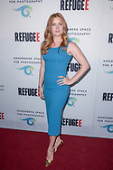 Amy Adams attends the opening of 'Refugee' exhibit on Thursday, April 21, 2016 at the Annenberg Space for Photography in Los Angeles, California