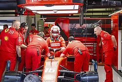May 10, 2019 - Barcelona, Catalonia, Spain - Leclerc, team Ferrari during F1 Grand Prix free practice celebrated at Circuit of Barcelona 10th May 2019 in Barcelona, Spain. (Credit Image: © Mikel Trigueros/NurPhoto via ZUMA Press)