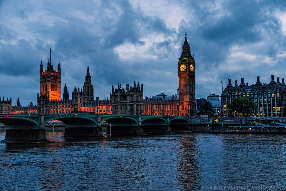 Houses of Parliament (Cloudy), London