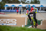 #101 (HOWELL Shanayah) ARU at Round 2 of the 2020 UCI BMX Supercross World Cup in Shepparton, Australia.