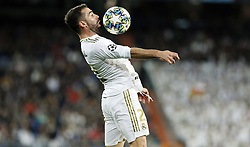 November 6, 2019, Madrid, Spain: Real Madrid CF's Dani Carvajal controls the ball during the UEFA Champions League match between Real Madrid and Galatasaray SK at the Santiago Bernabeu in Madrid. (Credit Image: © Manu Reino/SOPA Images via ZUMA Wire)