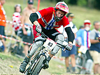 Sykkel<br /> Mountainbike<br /> UEC Mountainbike EM 2003<br /> 4 Cross<br /> 22.08.2003<br /> Leiv Ove Nordmark - Norge<br /> Foto: Michael Kop, Digitalsport