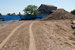 Meigs Point Nature Center at Hammonasset Beach State Park  <br /> Connecticut State Project No: BI-T-601<br /> Architect: Northeast Collaborative Architects  Contractor: Secondino & Son<br /> James R Anderson Photography New Haven CT photog.com<br /> Date of Photograph: 22 June 2015<br /> Camera View: 01