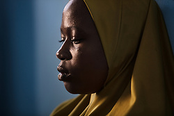 Gogogi, 15, was kidnapped and married to an insurgent. She finally escaped with her baby daughter. <br />