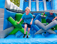 Labyrinth Inflatable Course, Dalkeith, 4 May 2019
