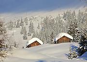 Postkarte A6: Alphütten, Grindelwald (4858)